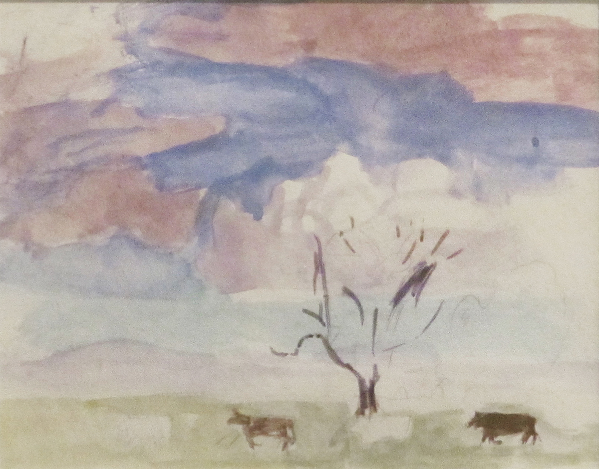Grazing Cattle by  Mary Potter OBE (1900-1981)