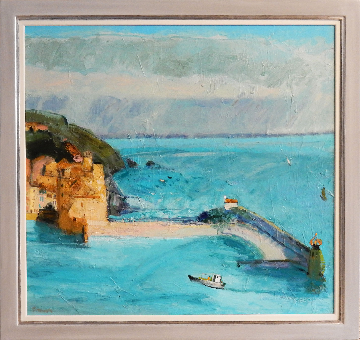 Collioure Harbour by  John Brown