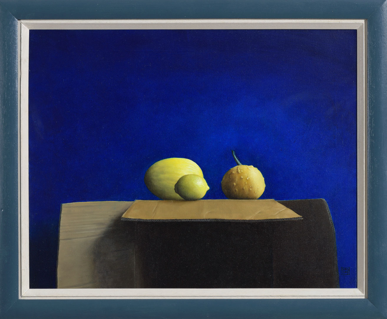 Melon,Lemon and Gourd by  David Gleeson