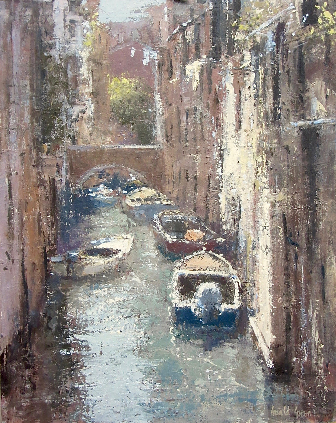 Venetian Backwater by  Gerald Green