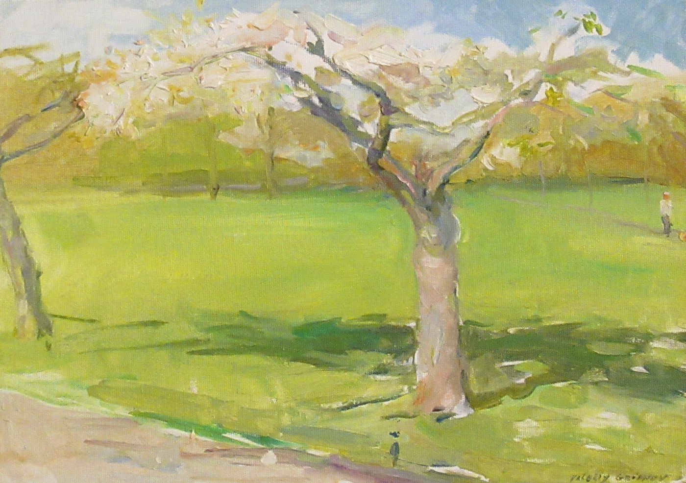 The Blossom Tree by  Valeriy Gridnev