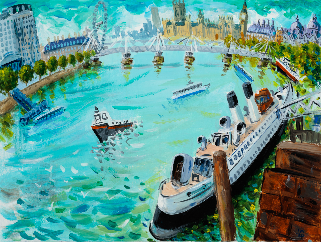 Queen Mary Revisited by  Ian Weatherhead