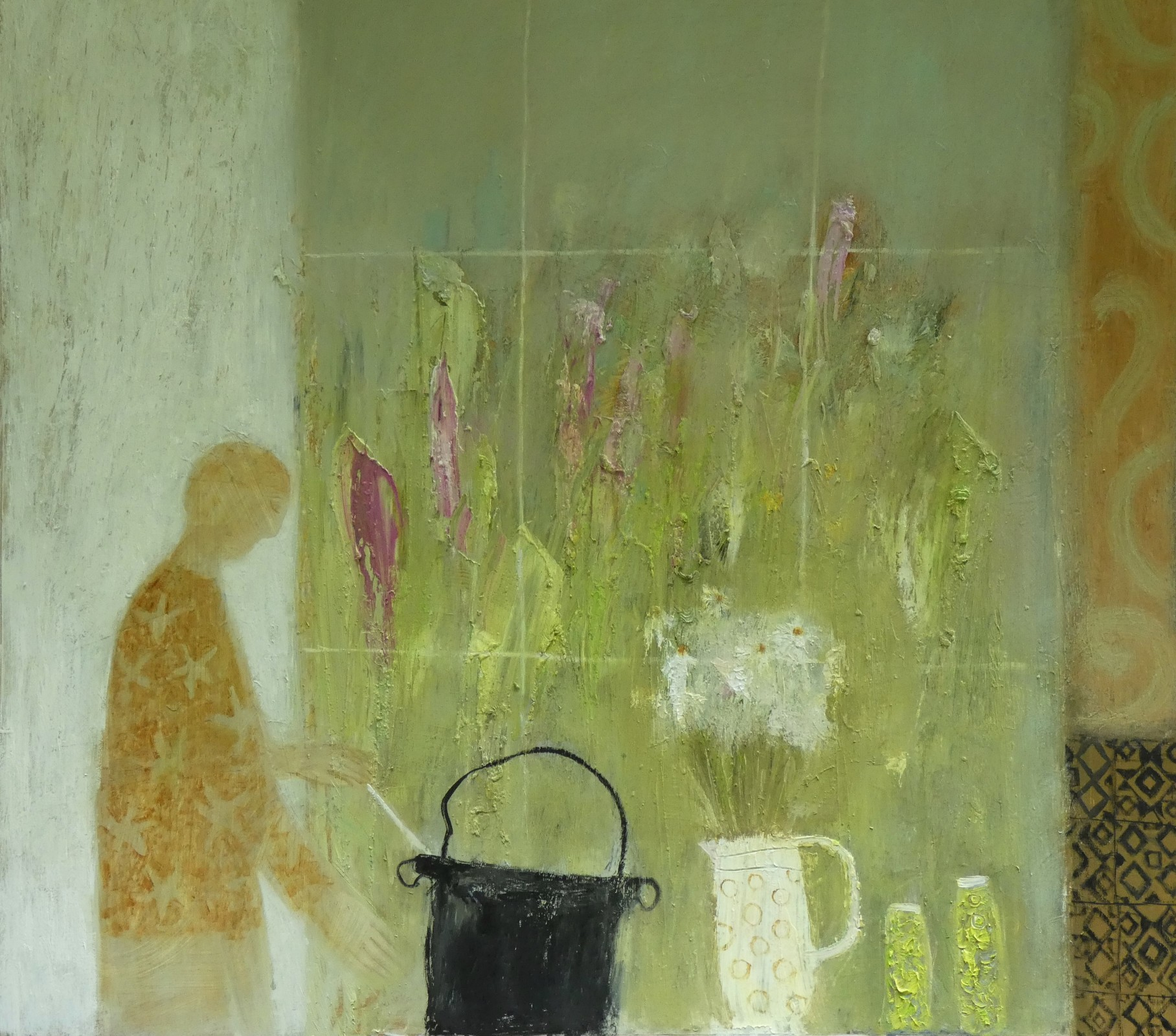 Kitchen Window by  Helen Tabor