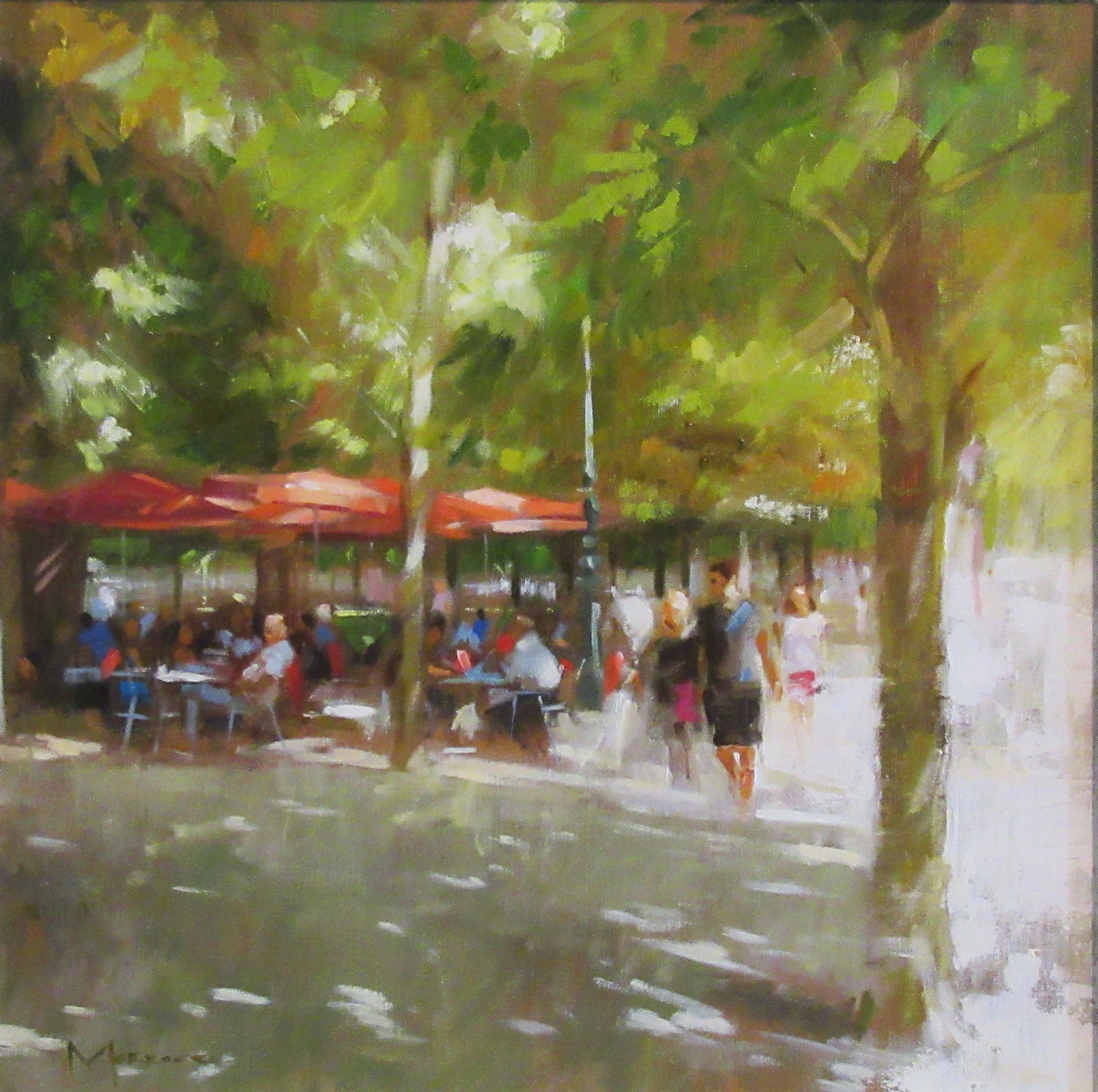 Late Afternoon, Jardin de Tuileries, Paris by  Jack Morrocco