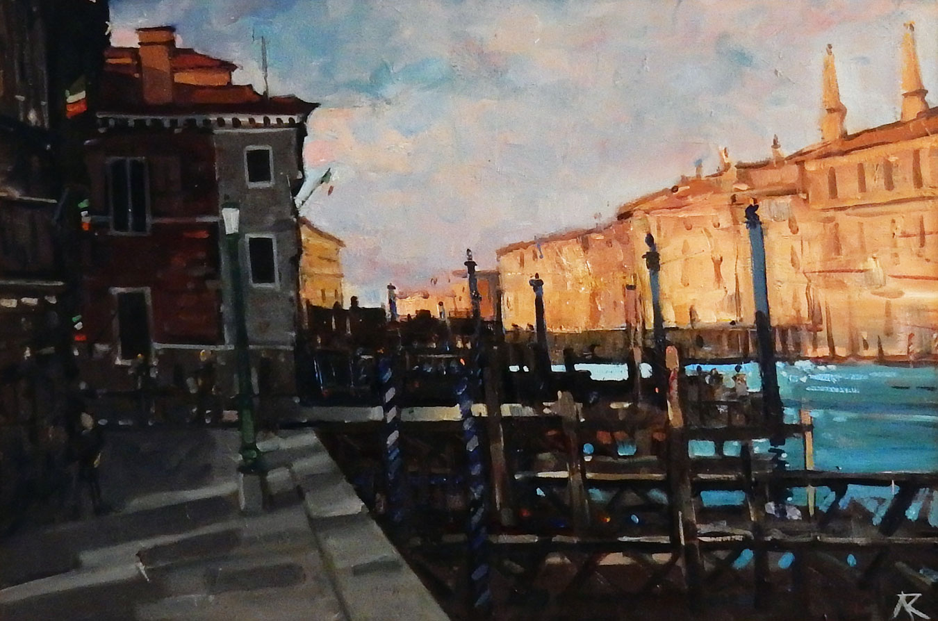 Afternoon Shadows, Venice by  Alexander R Robb