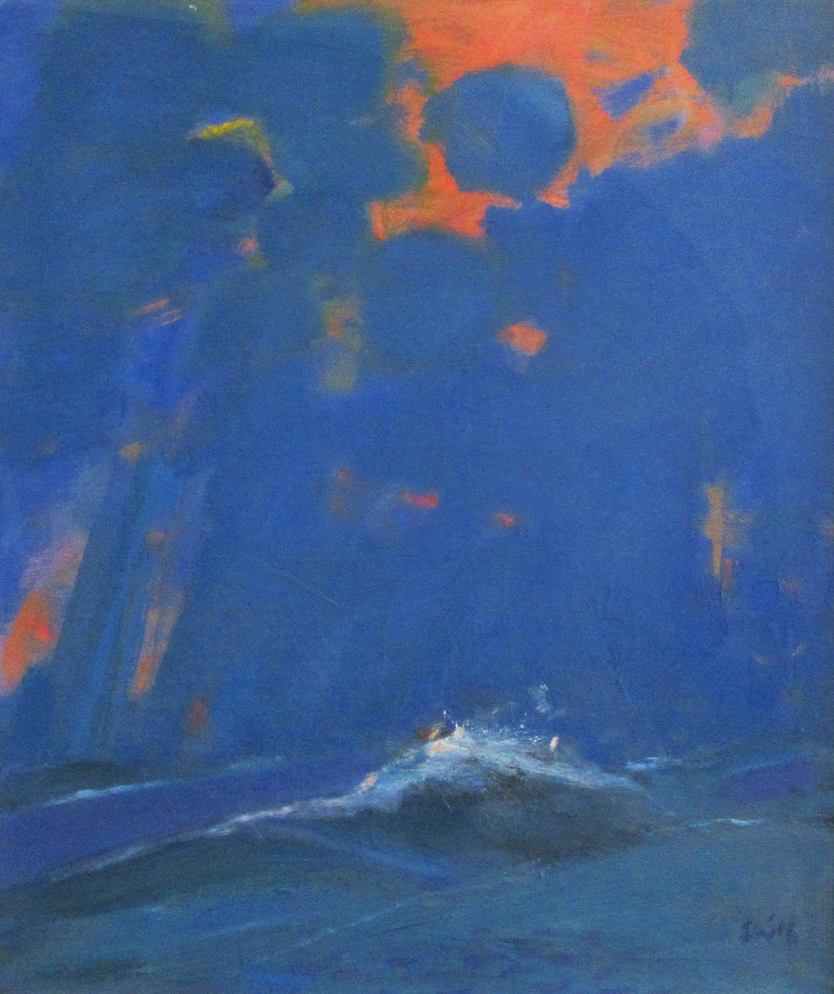Empty Sea by  Ronald Smith RGI PAI RSW