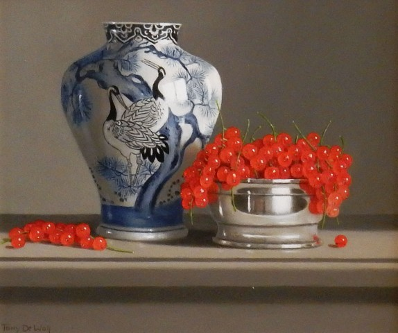 Chinese Vase and Red Currants