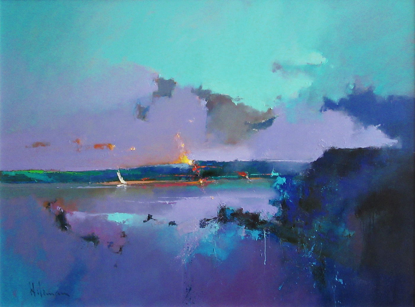 Notes on a Breeze by  Peter Wileman PPROI RSMA FRSA