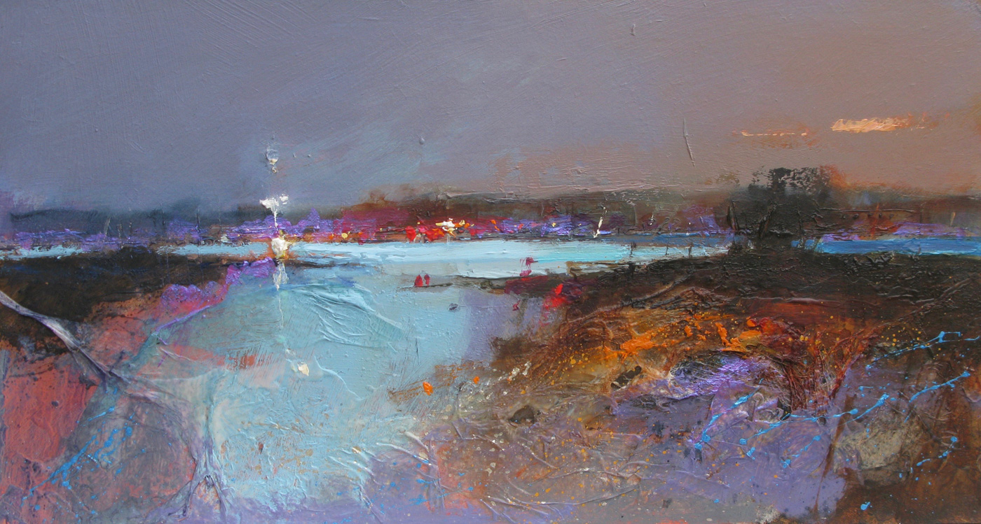On the Orwell by  Peter Wileman PPROI RSMA FRSA