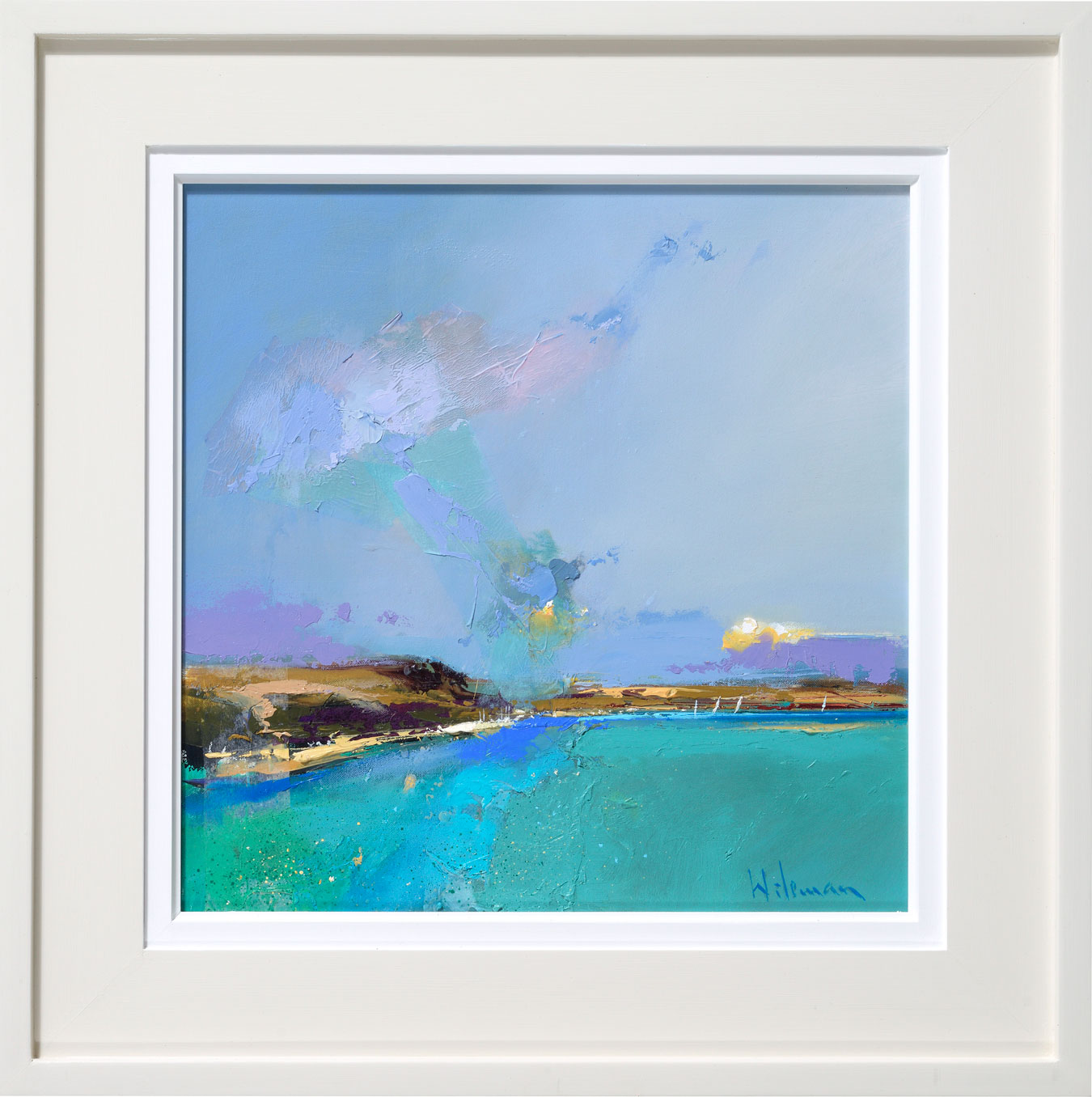 Towards Rock, on the Camel Estuary by  Peter Wileman PPROI RSMA FRSA