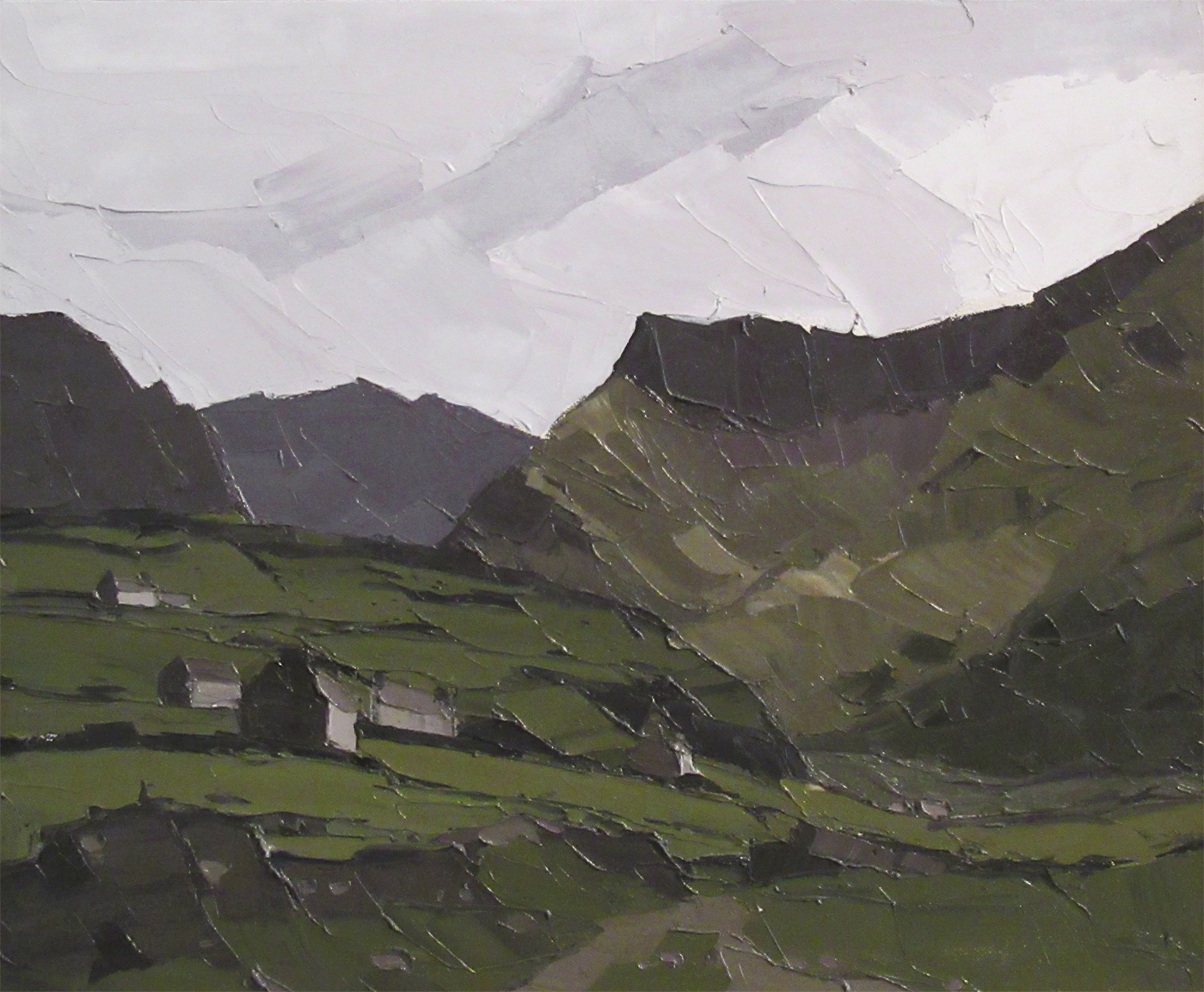 Cloud Under Crib Goch by DELETE Sir Kyffin Williams